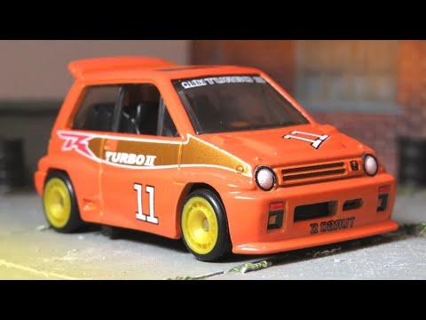 Hot Wheels '85 Honda City Turbo II - Car Culture: Japan Historics 3 (2020) 2/5