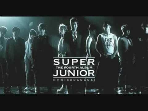 Super Junior- Boom Boom