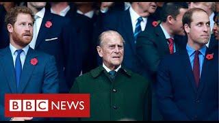 Princes William and Harry pay tributes to their grandfather the Duke of Edinburgh - BBC News