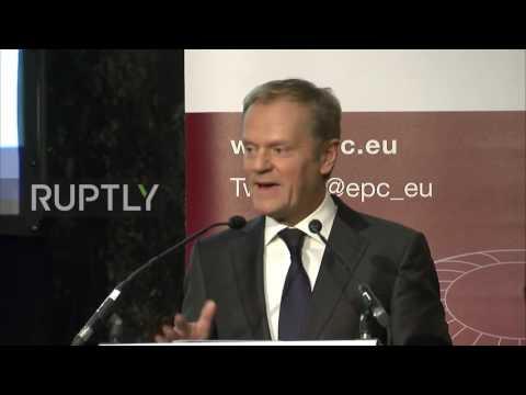 Belgium: 'Hard Brexit' or 'no Brexit' says EU president Tusk