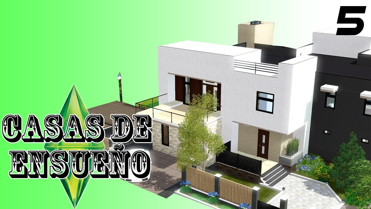 Casas de ensue o casa 5 serie sims 3 descarga youtube for Casa moderna los sims 3