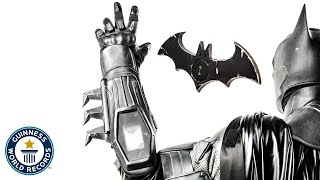 The most amazing Batman Cosplay in the WORLD- Guinness World Records