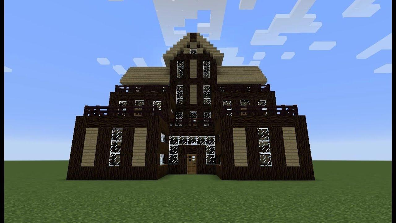 بني بيت في ماين كرافت