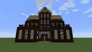كيف تبني بيت حلو في ماين كرافت#4   بيت كبير وسهل !