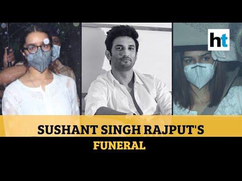 Sushant Singh Rajput funeral: Kriti Sanon, Shraddha Kapoor, others attend