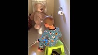 Mr Bear's Potty Time