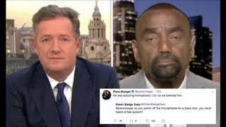 Piers Morgan Cuts Mic On Pastor Making Disparaging Remarks About Black Lives Matter thumbnail