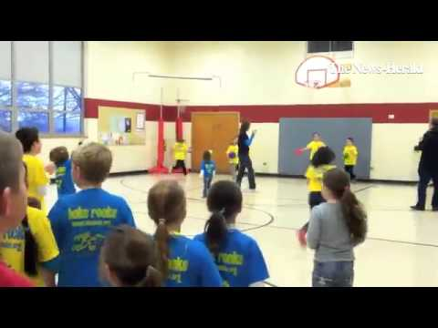 Brentmoor Elementary School students get moving with the BOKS program Friday mornings.