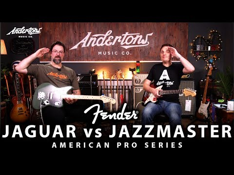 Fender Jaguar vs Jazzmaster - An American Pro Series Shootout