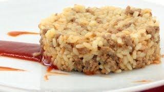 Arroz con Carne Picada- Receta Arroz Brillante