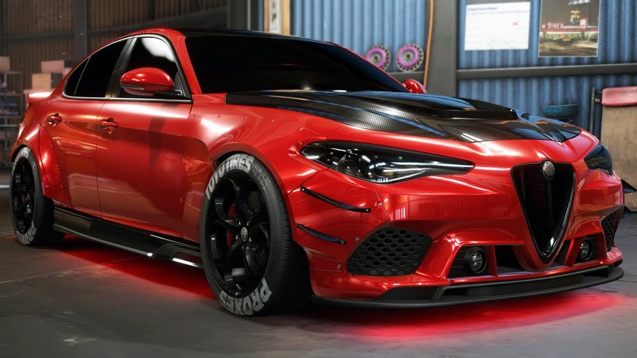 alpha romeo giulia need for speed payback tmartn2 let 39 s play hub game walkthroughs let. Black Bedroom Furniture Sets. Home Design Ideas