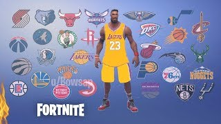 NBA BASKETBALL Skins coming to FORTNITE!!?