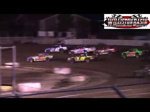 Williston Basin Speedway IMCA Stock Car A-Main (7/3/18)