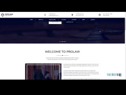 Prolaw Legal Law Firm - Attorney Bootstrap HTML Template        Patto