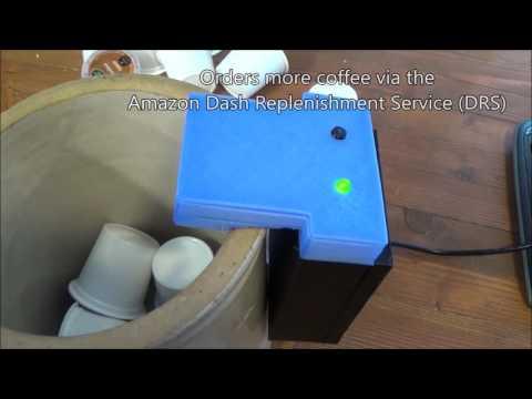 Coffee Ordering Robot Using Amazon Dash Replenishment Service
