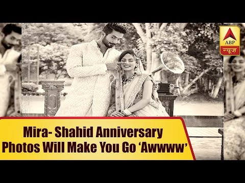 Mira- Shahid Anniversary: Photos which will make you go 'awwww'
