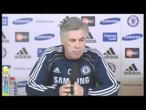 Chelsea FC - Ancelotti on Luiz