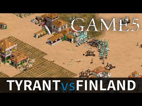 Tyrant vs Finland | Game #5 | Best of 5