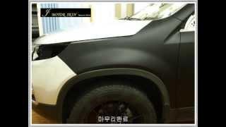 쏘렌토R 블랙무광필름 전체시공동영상 -  j motor…