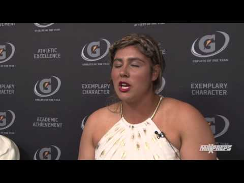 Taylor McQuillin Interview - Gatorade Player of the Year Awards