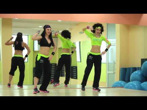 Танци за финала на конкурса Зумба Фейс Пловдив 2012