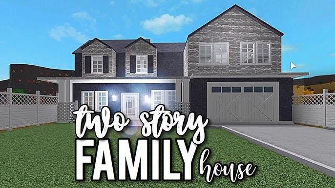 Roblox Bloxburg Aesthetic Family Home 37k Youtube - All ...