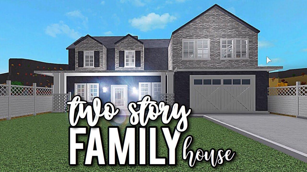 Bloxburg 2 Story Family House