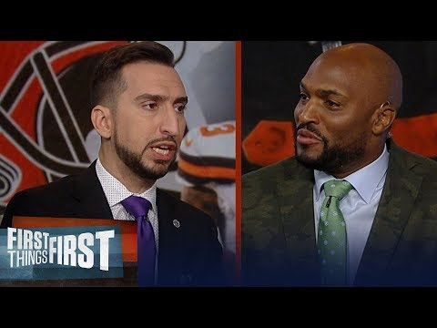Amani Toomer & Nick agree OBJ needs a fresh start with a new team in 2020 | NFL | FIRST THINGS FIRST