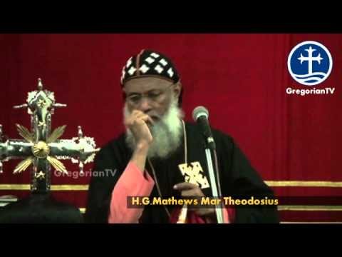 Memorial Feast of St.Peter & St.Paul-Message by H.G.Mathews Mar Theodosius