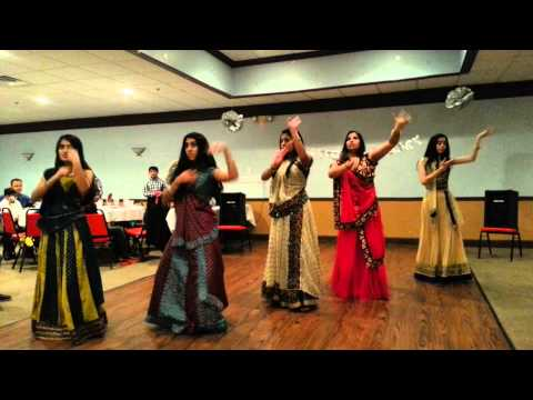 Bollywood Group Dance Performance at 25th Anniversary Party