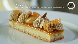 Quince Tart – Bruno Albouze –THE REAL DEAL