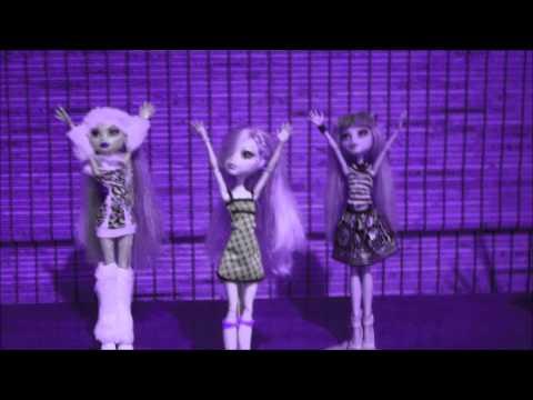 Monster High Lagoona- Tik Tok (Stop Motion)