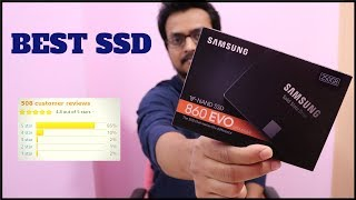 Samsung Evo 860 SATA III SSD Unboxing - Installation - Booting - Speed Test [ Hindi ] - TechToTech
