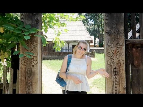 The Village Museum (Muzeul Satului) & Herăstrău Park Bucharest, Romania | Bucharest Travel Vlogs