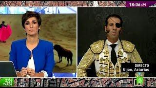"""Juan José Padilla: """"Si no se mata el animal, el toro viviría pero moriría la fiesta"""""""