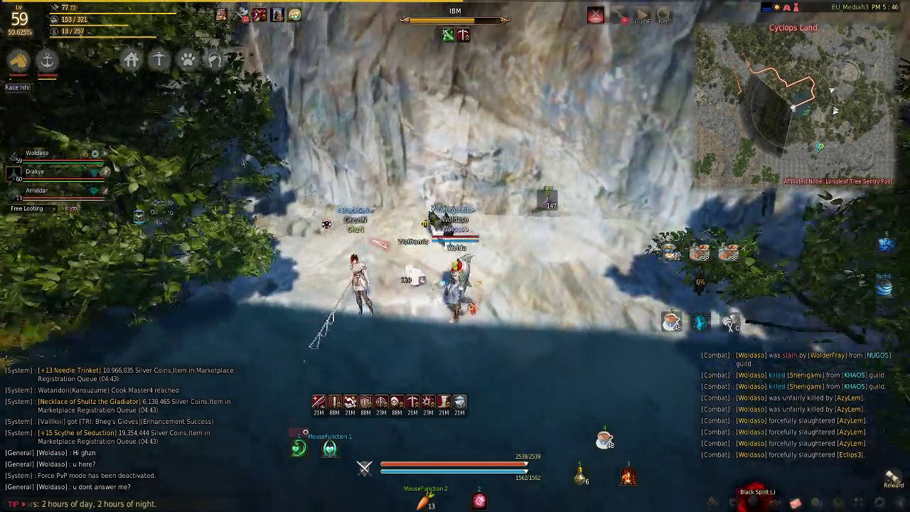 Black Desert Online - Guy with fish bot