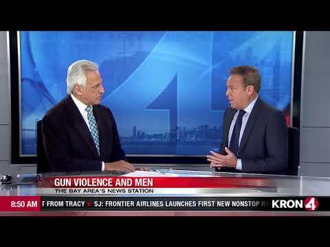 San Francisco KRON 4 News  10-8-17  Gun Violence Interview