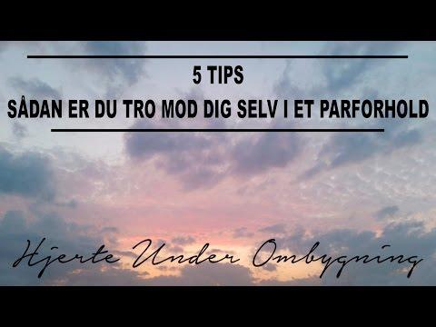 5 tips - Sådan er du tro mod sig selv i et parforhold