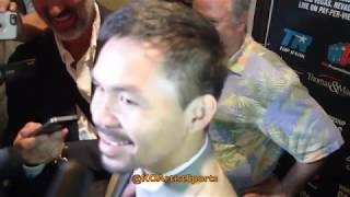 PACQUIAO'S HILARIOUS REACTION TO FLOYD VS CONOR!