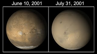 Electric Dust Storms Engulf Mars | Space News