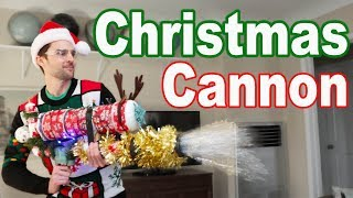 CHRISTMAS CANNON: Instant Tree Decorator