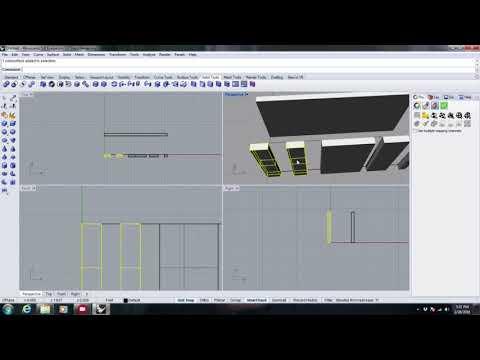 Pre Viz Video Mapping using Rhino and MA3D