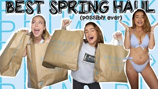PRIMARK DID GOOD -  HUGE SPRING/SUMMER TRY ON HAUL | Syd and Ell