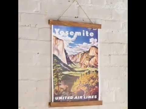 DIY Wooden Poster Frame