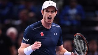 Andy Murray - Top 10 Best points of 2016