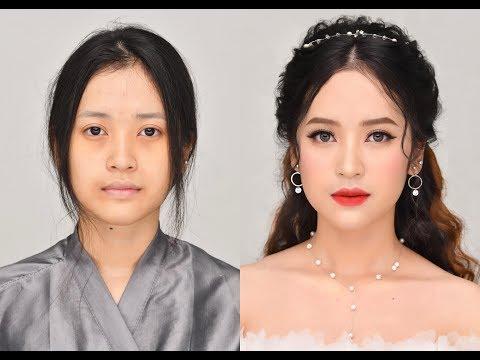 Snow White Bridal Makeup Look