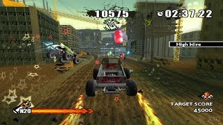 Monster 4x4: Stunt Racer Wii Gameplay HD (Dolphin Emulator)