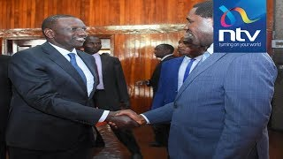 'La Mada plot': DP Ruto, CS Munya meet at Kenya Trade Week