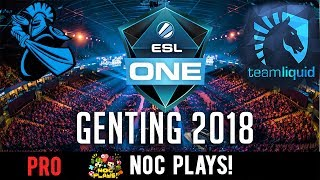 NOC Plays First time to ESL One Genting 2018 (DOTA 2) JulianTayTM