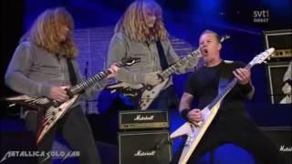 Konser Metal Terbesar Di Dunia. Anthrax, Slayer, Metallica, Megadeth - Am I Evil